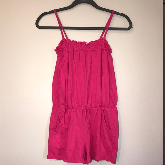 Beautees Other - Girls Pink Romper